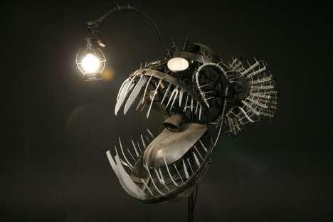 Terrifying Sea Creature Lighting