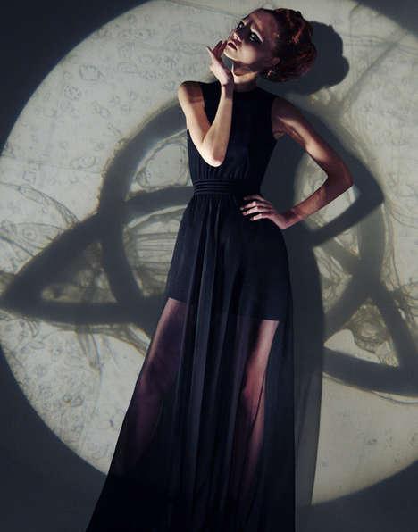 Mysterious Sorceress Photoshoots