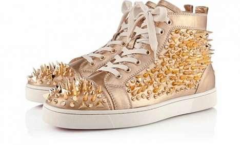 Golden Glam Sneakers