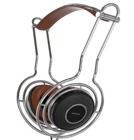 Retro Modern Headphones