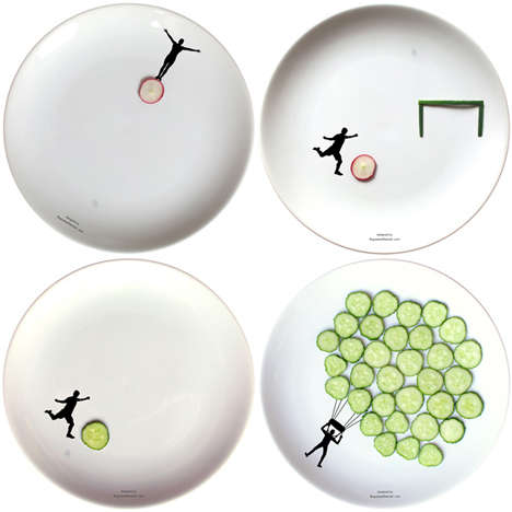 18 Comical Plates