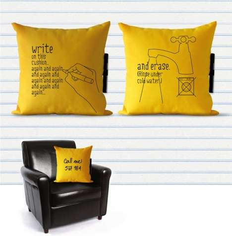 Wonderful Writable Cushions