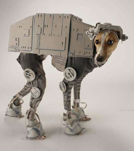 The AT-AT Dog Costume Shows Off Your Pup's Love for Star Wars