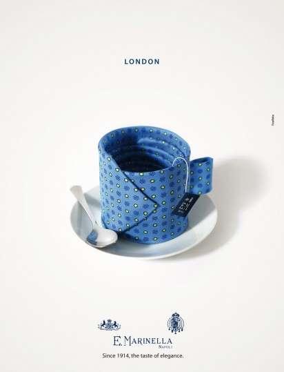 Delectably Dapper Necktie Ads
