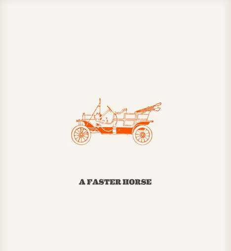 The Faster Horses Poster Series Celebrates Landmark Inventions