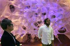 Biologically-Inspired Installation - myThread Pavilion by Jenny Sabin Helps Launch Nike's Flyknit