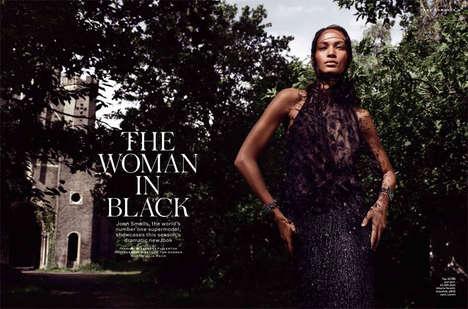 Textured Ebony Fashion