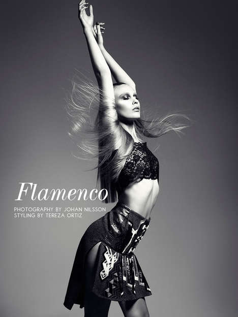 Spanish Music-Inspired Editorials