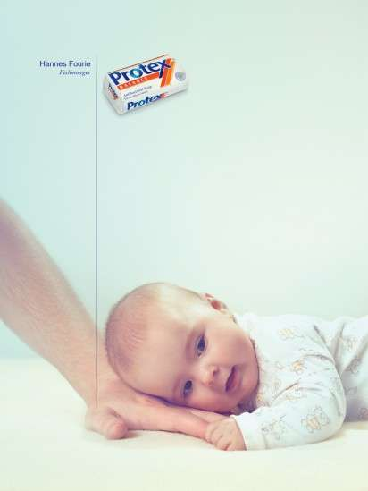 Infectious Hand Ads