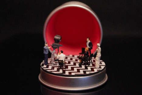 Miniature Tin-Bound Dioramas