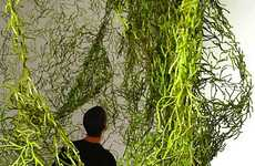 Seaweed-inspired Partitions - The Algues Room Divider Adds an Organic Touch to Living Spaces