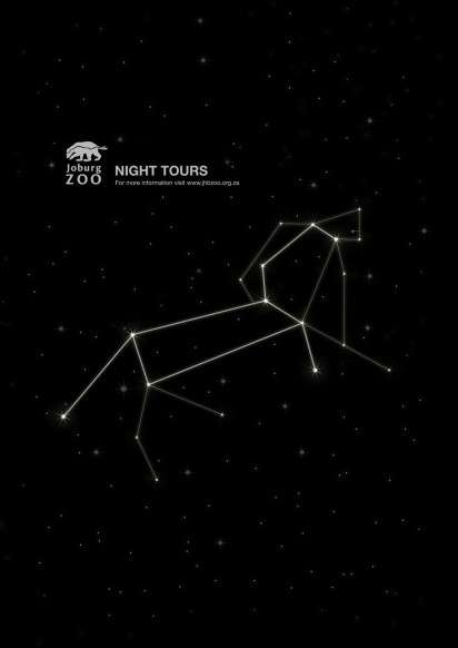 Animalistic Constellation Ads