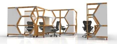 Abandoned House-Made Desks