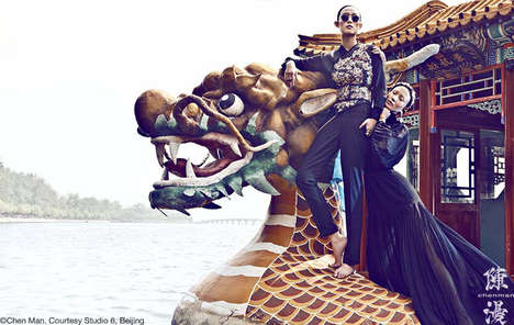 Opulent Asian Fashion
