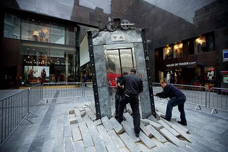 Erupting Elevator Installations