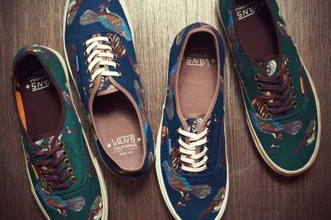 Avian-Accented Sneakers