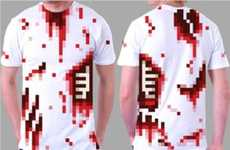 Low-Res Costume Tees - The 8-Bitty Pixelated Shirts Make for Simple Halloween Costumes