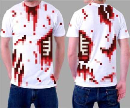 Low-Res Costume Tees