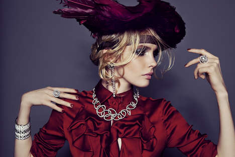 Eclectic Millinery Editorials
