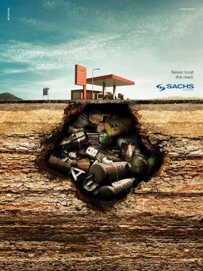 Garbage-Filled Ground Ads