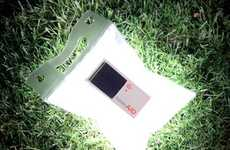 Savvy Inflatable Solar Lamps - The LuminAID Light Is Affordable, Waterproof and Last 3 Years