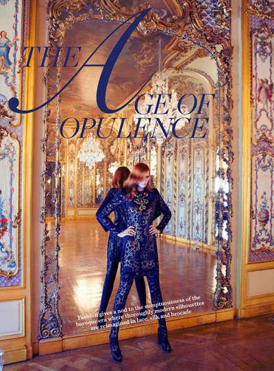 Modernized Baroque Fashion