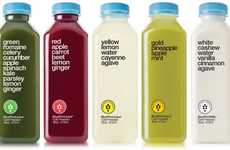 Simplistic Beverage Branding - BluePrint Offers New Refreshing and Cleansing Single Serving Juices