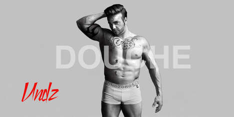 Mockery Underwear Ads - Undz & M Makes Fun of David Beckham's Campaign