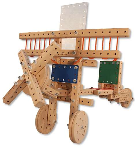 Modern Architectural Wooden Toys