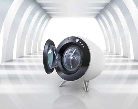 Spherical Laundry Appliances