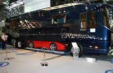 Ferrari-Storing Motor Abodes - The Volkner Mobil Luxury Motor Home is Expensive