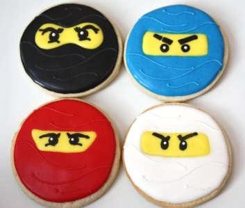 Halloween Ninja Cookies