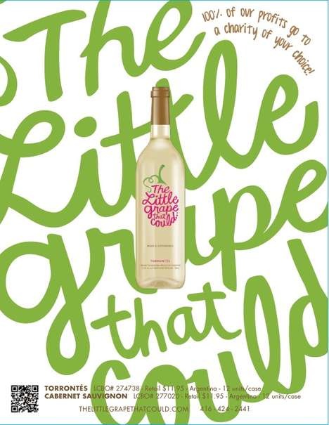 Beneficial Nonprofit Wine Labels
