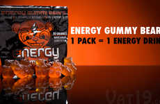 Caffeinated Candy Bears - Energy Gummy Bears are Both Palatable and Packed with Power