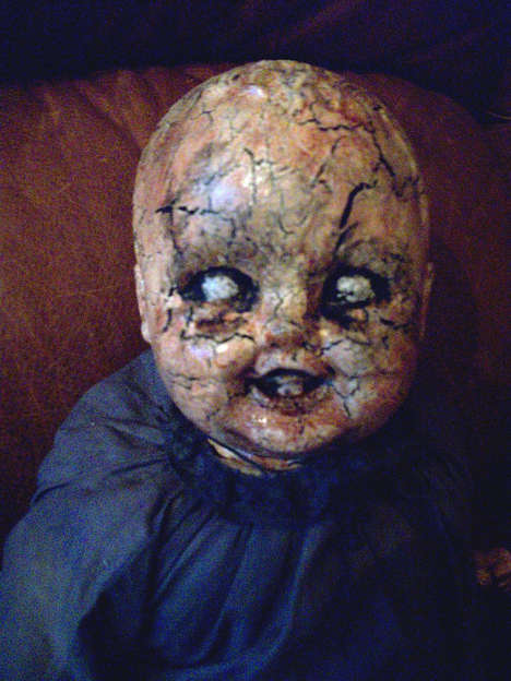 Spooky Salvaged Dolls