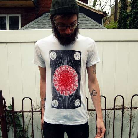 The Communitea Clothing Shirt Designs are Hand-Printed and Unexpected