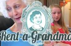 Grandmother Babysitting - Rent-a-Grandma Hires Out the Elderly for Childcare Services