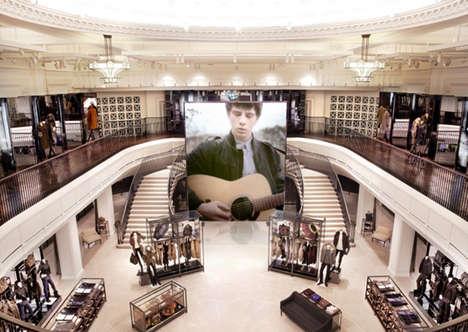 Digitized Flagship Shops