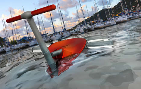 Segway-Like Sea Transports