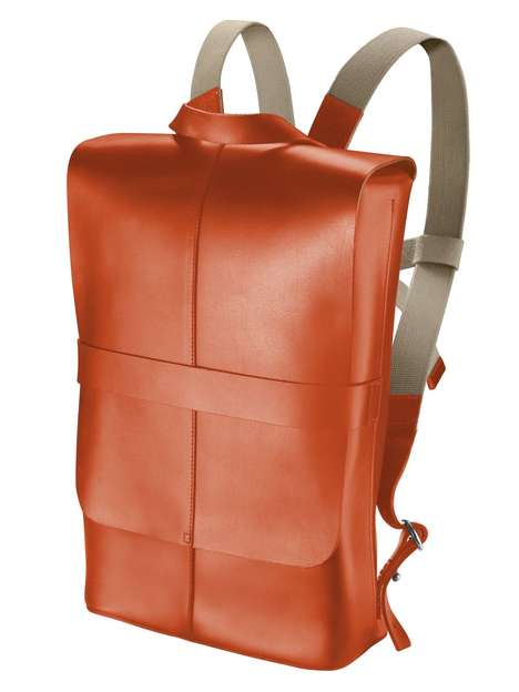 Debonair Book-Carrying Bags - Brooks England Piccadilly Knapsack Refines the Everyday Backpack