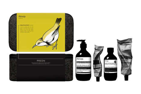 Avian-Themed Grooming Products
