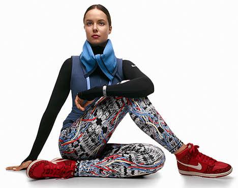 Yoga-Infused Footwear Lookbooks