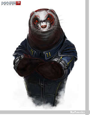 Ferret Video Game Characters are Extremely Cute