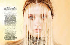 Feminine Medieval Fashion - The S Moda 'Musas de Fantasia' Editorial is Inspired by Archaic Stories