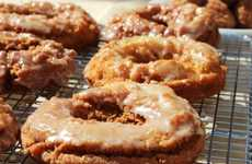 Delectable Beverage-Flavored Donuts - These Apple Cider Fritters are Tasty Fall Snacks