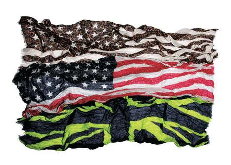Patriotic Neck Wraps