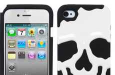 Sinister Smartphone Shells - The iPhone Skull Case is a Ghoulishly Great Halloween iPhone Case