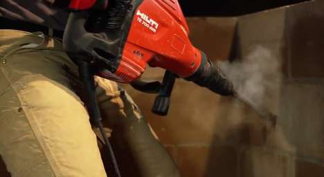 The TE 700-AVR Demolition Hammer Breaks Concrete and not Your Back