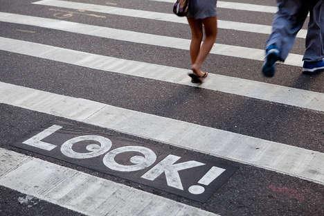 Googly-Eyed Crosswalks