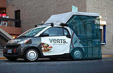 Miniature Food Trucks - The Verts Kebap Car Offers Healthy Berlin Cuisine